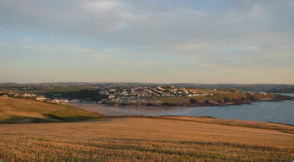 Polzeath viewed from Pentire